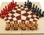 Chess Board, 3 sides